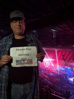 Paul attended Bellator 238 - Budd vs. Cyborg on Jan 25th 2020 via VetTix