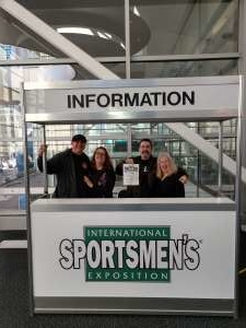William attended International Sportsmen's Expo - Tickets Good for Any One Day on Jan 10th 2020 via VetTix