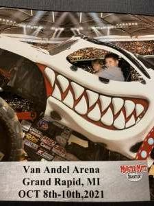 Carrie Mitchell attended Monster Jam Triple Threat Series on Oct 8th 2021 via VetTix