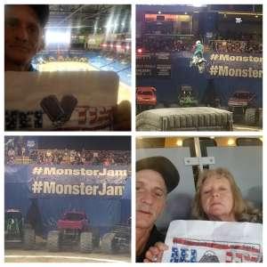 Connie attended Monster Jam on Mar 6th 2020 via VetTix