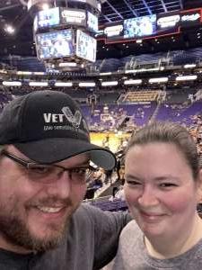 Joshua attended Phoenix Suns vs. Charlotte Hornets - NBA on Jan 12th 2020 via VetTix