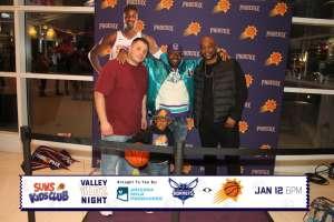 Jamie attended Phoenix Suns vs. Charlotte Hornets - NBA on Jan 12th 2020 via VetTix