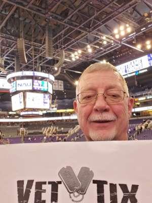 Ronald attended Phoenix Suns vs. Charlotte Hornets - NBA on Jan 12th 2020 via VetTix