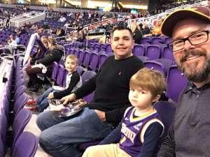 DAVID attended Phoenix Suns vs. Charlotte Hornets - NBA on Jan 12th 2020 via VetTix