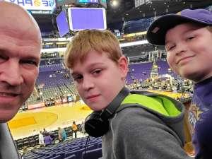 Jason attended Phoenix Suns vs. Charlotte Hornets - NBA on Jan 12th 2020 via VetTix