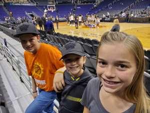Sean attended Phoenix Suns vs. Charlotte Hornets - NBA on Jan 12th 2020 via VetTix