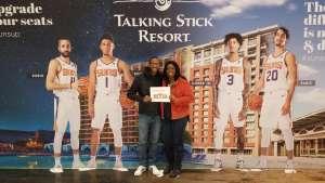 Richard  attended Phoenix Suns vs. Charlotte Hornets - NBA on Jan 12th 2020 via VetTix