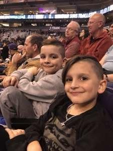 Tziporah attended Phoenix Suns vs. Charlotte Hornets - NBA on Jan 12th 2020 via VetTix