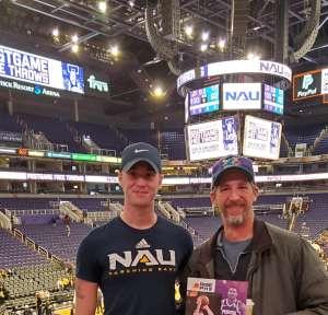 Matthew attended Phoenix Suns vs. Charlotte Hornets - NBA on Jan 12th 2020 via VetTix