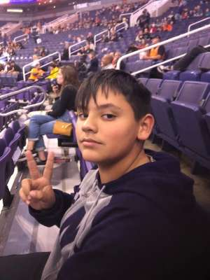 Ryan attended Phoenix Suns vs. Charlotte Hornets - NBA on Jan 12th 2020 via VetTix