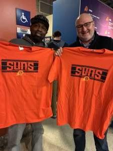 Dennis attended Phoenix Suns vs. Orlando Magic - NBA on Jan 10th 2020 via VetTix