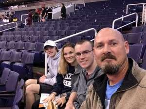 Terrence attended Phoenix Suns vs. Orlando Magic - NBA on Jan 10th 2020 via VetTix