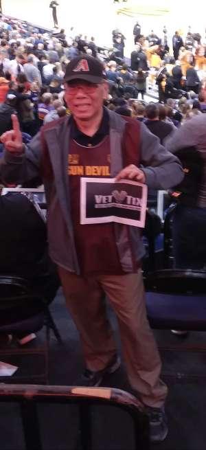 William attended Phoenix Suns vs. Orlando Magic - NBA on Jan 10th 2020 via VetTix