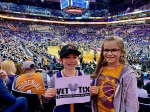 Michael attended Phoenix Suns vs. Orlando Magic - NBA on Jan 10th 2020 via VetTix