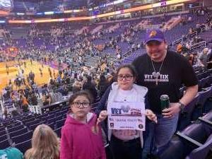 Jose attended Phoenix Suns vs. Orlando Magic - NBA on Jan 10th 2020 via VetTix