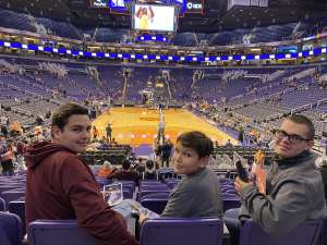 Jason attended Phoenix Suns vs. Orlando Magic - NBA on Jan 10th 2020 via VetTix