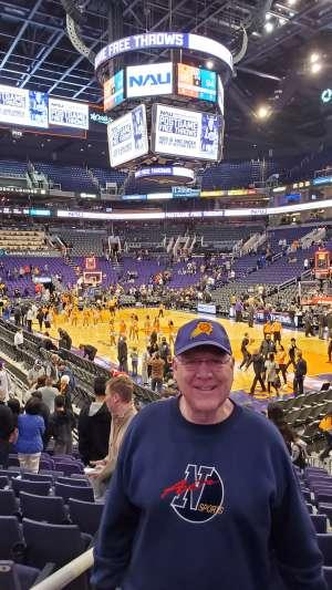 Ernest attended Phoenix Suns vs. Orlando Magic - NBA on Jan 10th 2020 via VetTix