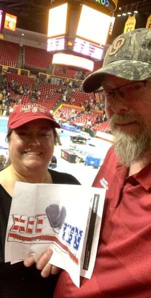 Brent attended Arizona State Sun Devils vs. Oklahoma - NCAA Gymnastics on Jan 11th 2020 via VetTix