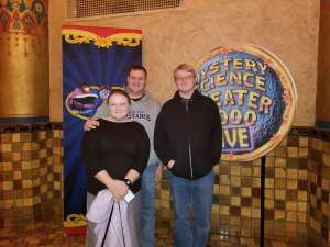 Matthew attended Mystery Science Theater 3000 Live! on Jan 28th 2020 via VetTix