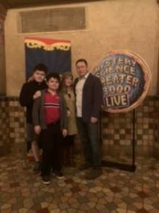 Daniel attended Mystery Science Theater 3000 Live! on Jan 28th 2020 via VetTix