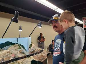 George attended Rocky Mountain Train Show - Tickets Good for Any One Day * See Notes on Mar 7th 2020 via VetTix