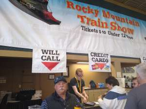 Butch attended Rocky Mountain Train Show - Tickets Good for Any One Day * See Notes on Mar 7th 2020 via VetTix