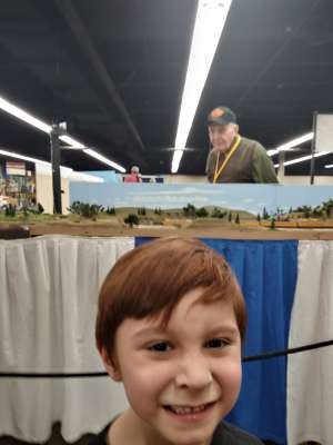 Rod attended Rocky Mountain Train Show - Tickets Good for Any One Day * See Notes on Mar 7th 2020 via VetTix