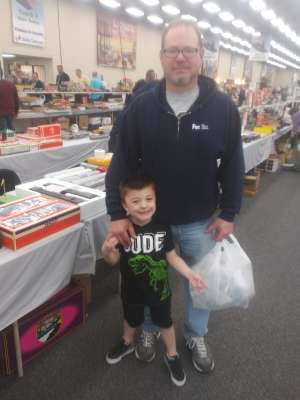 Craig  attended Rocky Mountain Train Show - Tickets Good for Any One Day * See Notes on Mar 7th 2020 via VetTix