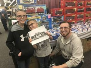 Gerred attended Rocky Mountain Train Show - Tickets Good for Any One Day * See Notes on Mar 7th 2020 via VetTix