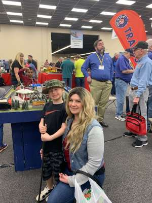 Mark attended Rocky Mountain Train Show - Tickets Good for Any One Day * See Notes on Mar 7th 2020 via VetTix