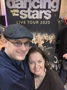 Eric attended Dancing With the Stars Live! - A Night to Remember on Jan 11th 2020 via VetTix