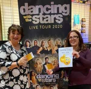 Elizabeth attended Dancing With the Stars Live! - A Night to Remember on Jan 11th 2020 via VetTix