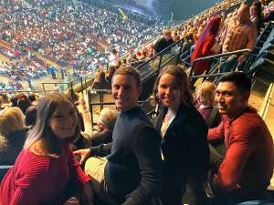 Brandon attended Dancing With the Stars Live! - A Night to Remember on Jan 11th 2020 via VetTix