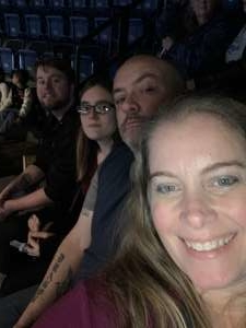 Kristy attended Dancing With the Stars Live! - A Night to Remember on Jan 11th 2020 via VetTix