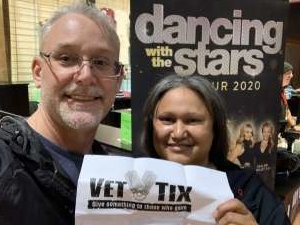 Randy attended Dancing with the Stars - Live Tour 2020 on Jan 12th 2020 via VetTix
