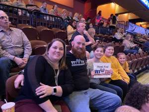 Adam attended Dancing with the Stars - Live Tour 2020 on Jan 12th 2020 via VetTix