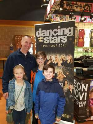 Click To Read More Feedback from Dancing with the Stars - Live Tour 2020