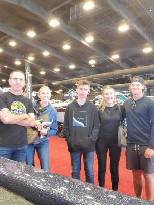 The Fisher's  attended International Sportsmen's Expo - Scottsdale - Tickets Good for Any One Day on Mar 13th 2020 via VetTix