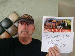 Gary attended International Sportsmen's Expo - Scottsdale - Tickets Good for Any One Day on Mar 13th 2020 via VetTix