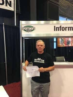 Bill attended International Sportsmen's Expo - Scottsdale - Tickets Good for Any One Day on Mar 13th 2020 via VetTix
