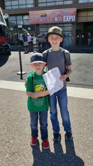James attended International Sportsmen's Expo - Scottsdale - Tickets Good for Any One Day on Mar 13th 2020 via VetTix