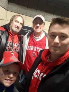 Daniel attended Ohio State Buckeyes vs. Nebraska Cornhuskers - NCAA Men's Basketball on Jan 14th 2020 via VetTix