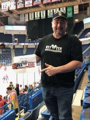 Bill attended Hartford Wolf Pack vs. Laval Rocket - AHL on Feb 14th 2020 via VetTix