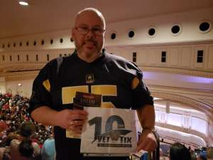 John attended An Evening With Little Big Town on Jan 16th 2020 via VetTix