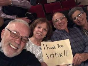 GERARD attended An Evening With Little Big Town on Jan 16th 2020 via VetTix