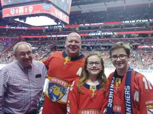 Andres attended Florida Panthers vs. Los Angeles Kings - NHL on Jan 16th 2020 via VetTix