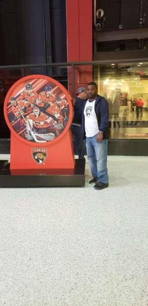 Wesley attended Florida Panthers vs. Los Angeles Kings - NHL on Jan 16th 2020 via VetTix