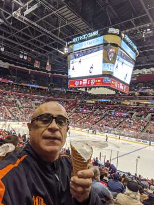 Gregory attended Florida Panthers vs. Los Angeles Kings - NHL on Jan 16th 2020 via VetTix