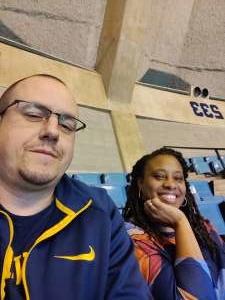 Christopher attended West Virginia University vs. Texas Christian University - NCAA Men's Basketball on Jan 14th 2020 via VetTix