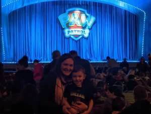 Kevin attended Paw Patrol Live: Race to the Rescue on Feb 9th 2020 via VetTix